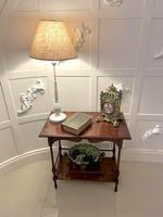 Quality Antique Edwardian Mahogany Lamp Table