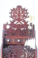 19th Century Scottish Vernacular 'folk Art' Thistle Fretwork Spoon & Candle Box (18 of 36)