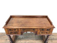 Antique Mahogany Desk with Barley Twist Supports (11 of 13)