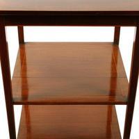 Edwardian Mahogany Lamp Table (5 of 7)