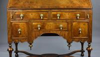 William & Mary Style Walnut Bureau (7 of 16)