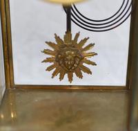 Antique Mantle Clock Set Garniture French Empire Urns (8 of 27)