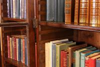 Four Doors Breakfront Bookcase In Mahogany - Early 19th Century (6 of 11)