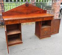 1900's Large Mahogany Dog Kennel Sideboard with Back (2 of 4)