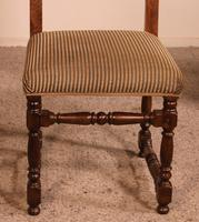 Set Of 10 Louis XIII Style Chairs In Walnut (5 of 11)