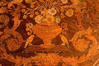 19th Century Dutch Marquetry Inlaid Tilt Table (7 of 7)