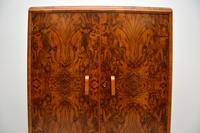 1930's Art Deco Burr Walnut Tallboy Wardrobe (4 of 11)