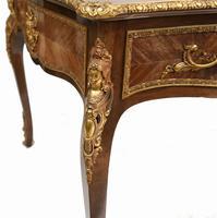 French Bureau Plat Antique Desk Writing Table Empire (8 of 13)