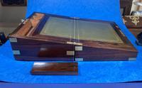 Victorian Brassbound Rosewood Writing Slope (16 of 20)