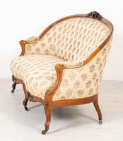 Victorian Rosewood Parlour Suite (8 of 23)