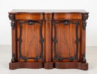 Good Victorian Rosewood Side Cabinet