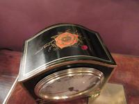 Small Antique Chinoiserie Mantel Clock (2 of 8)