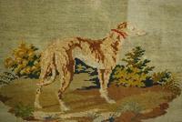 Needlework of a long dog/ greyhound (3 of 5)