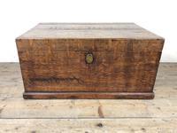 19th Century Oak Box Belonging to Henry Hanmer MP (14 of 14)