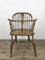 Pair of Antique Windsor Armchairs (2 of 9)