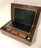 Antique Victorian Mahogany Writing Slope Box (15 of 16)