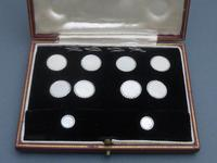 Garrard & Co White Gold and Mother of Pearl Dress Set (2 of 9)