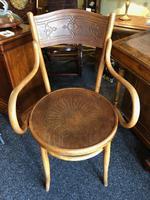 Antique Bentwood Chair J J Kohn Austria Stamped Original Rare Surviving Design (4 of 8)
