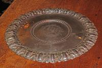 Extremely Rare Commonwealth Sterling Silver Porringer Stand or Salver, London 1656 (5 of 5)