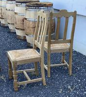 Set of 6 French Bleached Oak Farmhouse Dining Chairs (13 of 13)