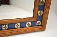 Large Mexican Tiled Mirror Vintage 1950's (7 of 10)