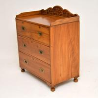 Antique Camphor Wood Military Campaign Chest of Drawers (3 of 12)