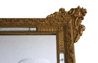 Antique Large Quality 19th Century Italian Gilt Wall Mirror Overmantle (4 of 8)