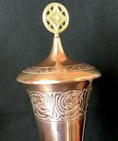 WMF Copper Conical Vase & Lid (5 of 6)