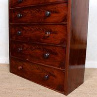 Cuban Mahogany Chest of Drawers 19th Century Tallboy (5 of 12)