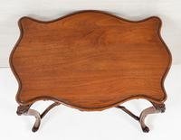 Pretty French Walnut Occasional Table (10 of 10)