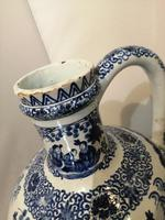 19th Century Blue & White Dutch Delft Flagon / Ewer (10 of 14)