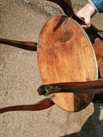 French Parquetry Occasional / Lamp Table (7 of 9)