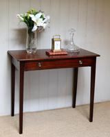 Early 19th Century Mahogany Side Table c.1820 (10 of 10)