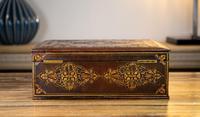 Decorative Leather Box 1870 (3 of 10)