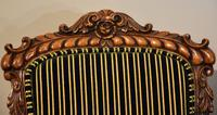 William IV Carved Oak Armchair (4 of 5)