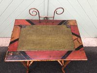 Antique Lacquered Bamboo Desk (11 of 11)