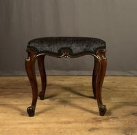 Useful Victorian Rosewood Stool (2 of 11)