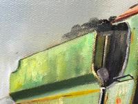 Oil Painting Railway Train Engine Princess Margaret 4056 Signed Ken Allsebrook (8 of 30)