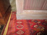 Victorian Limed Oak Glazed Bookcase (4 of 5)