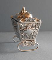 Antique Edwardian Silver Novelty Snuff Box (2 of 7)