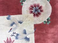 Antique Chinese Art Deco Carpet (11 of 12)