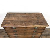 19th Century Elm Chest of Drawers (5 of 11)
