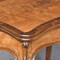 French Victorian Yew & Rosewood Fold-over Card Table / Games Table (2 of 11)
