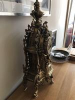 Antique Franz Hermle Imperial Ormolu Mantle Clock (2 of 4)