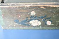 Scandinavian / Swedish 'Folk Art' Original Paint Rosmålning, Desk Timplåda / Sliding Lidded Box Gustavian, 1806 (16 of 16)