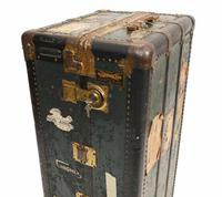 Vintage Steamer Trunk Luggage Case Harrison and  Co New York (13 of 28)
