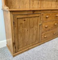 Large Antique Pine Dresser (14 of 16)