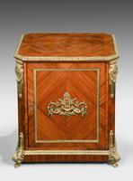 Late 19th Century Elaborate Gilt Bronze Dwarf Cabinet (2 of 5)