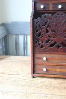 19th Century Scottish Vernacular 'folk Art' Thistle Fretwork Spoon & Candle Box (8 of 36)