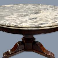 19th Century Marble Top Gueridon Centre Table (7 of 9)